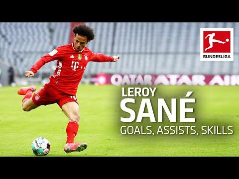 Best of Leroy Sané – Best Goals Assists Skills & Moments
