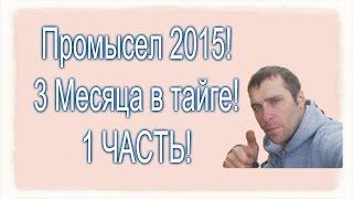 1 Часть . Промысел в тайге 2015 ! Сборы в тайгу на промысел. Красноярск, Енисейск, Бор, Байкит.