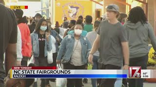 Fair food event at State Fairgrounds in Raleigh draws hundreds