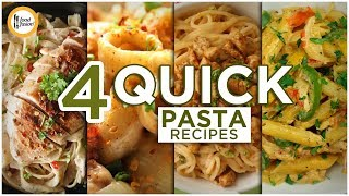 4 Quick Pasta Recipes By Food Fusion (Ramzan Special)