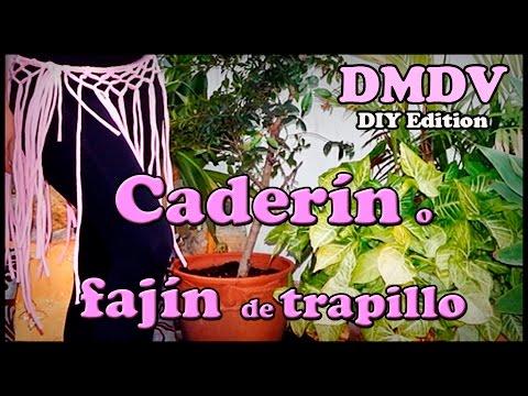 Bellydance DIY Caderin, fajin o cinturon sin costura para danza del vientre