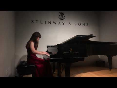My senior piano recital from April 2020