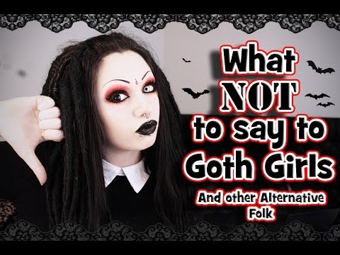 Gothic girl dating-site