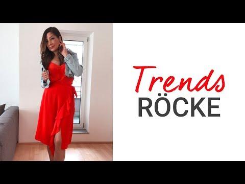 Diese Rocklänge trägt man 2019 | Top 6 Trends Röcke Frühling Sommer 2019 | natashagibson