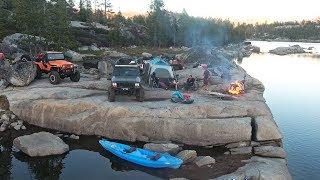 What's the Rubicon Trail Like? Wheeling, Camping, Swimming, Kayaking! Scout, JK, XJ, CJ5