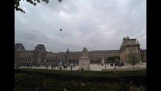Париж, центр, гуляем в районе Лувра,  Пале Рояль , Сад Тюельри  ,очень красивые старинные здания