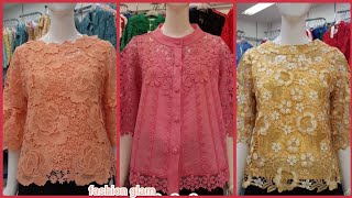 Batik Dress/lace Top/lace Blouse/chiken Kari Cotton Top & Blouse