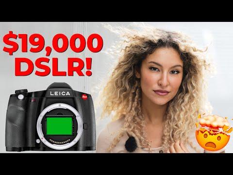 Medium Format DSLR - Leica S3