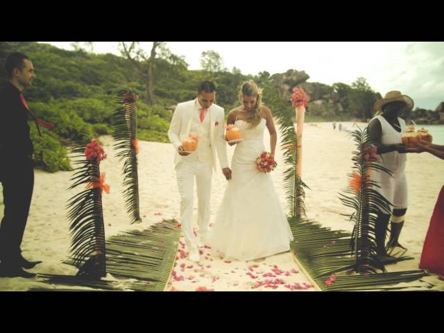 Wedding in La Digue Island, Seychelles