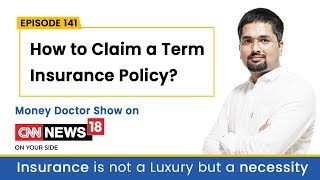 How to Claim a Term Insurance Policy - Money Doctor Show English | EP 141