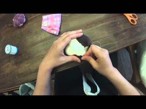 Costurar Touca e Cabelos