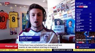 so i was on sky sports news...