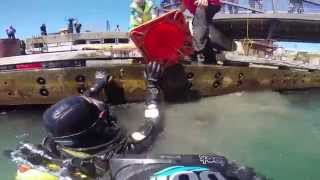 preview picture of video 'This is Your Harbour: Wellington Dive Clean Up 2014'