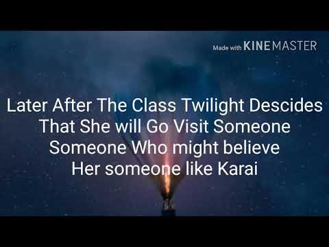 "Mlp eg and tmnt crossover love story Season 1 ep 13 ""Getting Help from Karai"""
