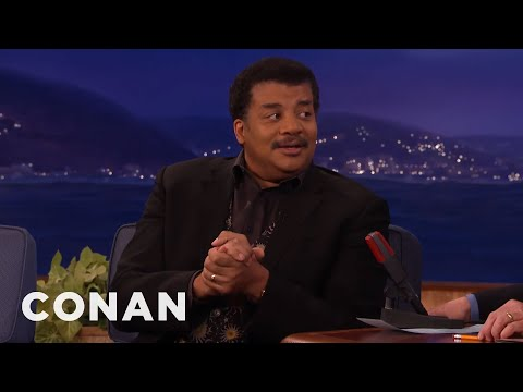 Neil deGrasse Tyson u Conana O'Briena