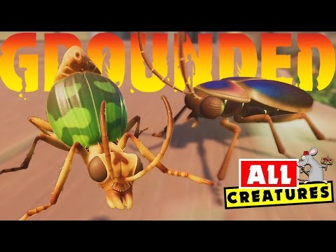 GROUNDED – What CREATURES are In The Game Now And In The Future!