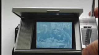 Citizen 08TA Pocket LCD TV  Pocket Television
