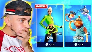 🎁BOUTIQUE FORTNITE Du 05 AOÛT 2020 ! Code Warolf LIVE FORTNITE FR