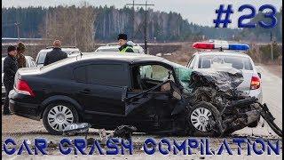 Car crash compilation Dash cam accidents Подборка Аварий и Дтп #23