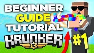 Krunker.io Beginners Guide / Tutorial (Pro Tips and Tricks)