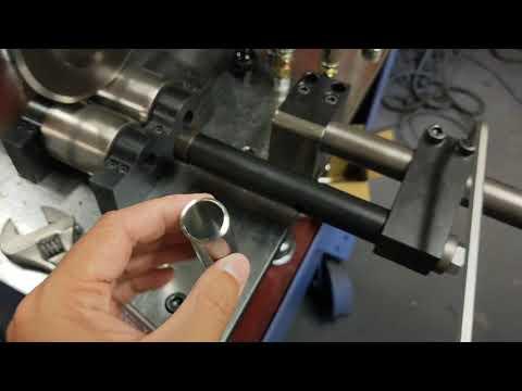 TD-41860OD20x1.3t ,Hydraulic pipe cutting machine,tube cutting machine,cutting,Tube rolling machine, tube shrinking machine, groove wheel machine, wheel convex machine, pipe cutting machine, wheel cutting machine