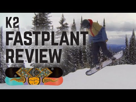 K2 Fastplant Snowboard Review