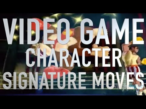 Top 10 Video Game Character Signature Moves (Quickie)