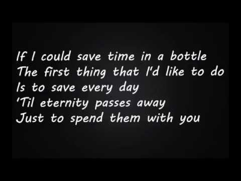 Música (If I Could Save) Time In A Bottle