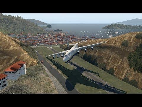 HUGE Planes VS TFFS (SMALL RUNWAY) | X-Plane 11