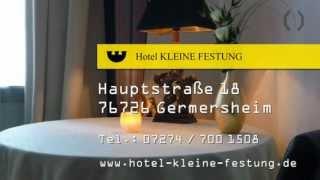 preview picture of video 'Hotel Germersheim - Hotel Kleine Festung'