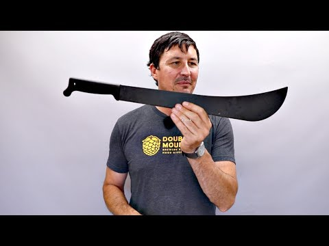 Testing The Cheapest Machete On AMAZON