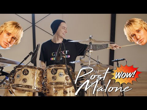Luke Holland - Post Malone - 'Wow' Drum Remix