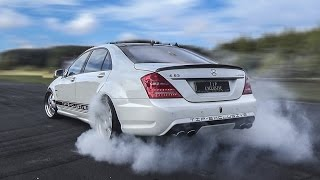 BMW vs Mercedes - BURNOUTS & DRIFTS!