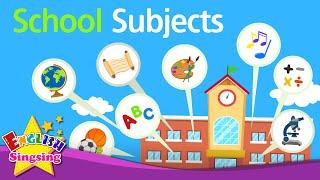 Kids từ vựng - Môn học - môn học yêu thích - video giáo dục tiếng Anh
