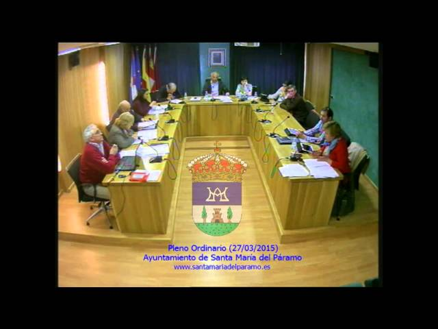 Pleno Ordinario (27/03/2015)