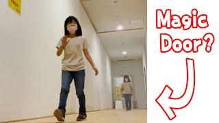 Magic Door funny vfx video | Viral magic video #SHORTS