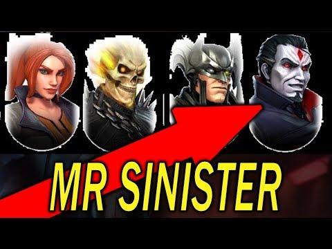 Mister Sinister? - MARVEL Strike Force - MSF