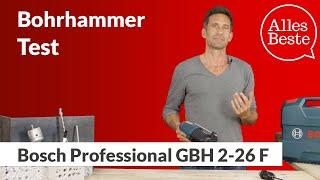 Bohrhammer-Test: Bosch Professional GBH 2-26 F – AllesBeste.de