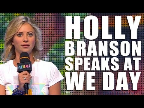Holly Branson at We Day: Experiencing India