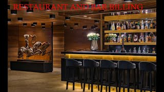 HOW WE USE BAR AND RESTAURANTS SYSTEM IN HOTEL SOFTWARE