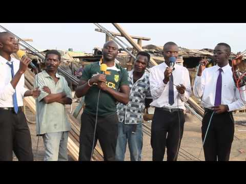 Rudo Acapella At Munyaule Market Open Air Crusade