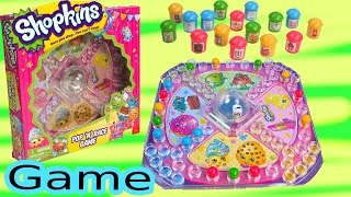 Shopkins Season 1&2 Pop N Race Family Fun Game Custom DIY Players Simple Craft Toy Unboxing