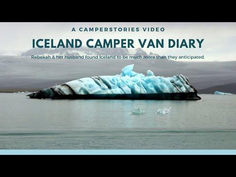 Iceland camper van diary - CamperStories
