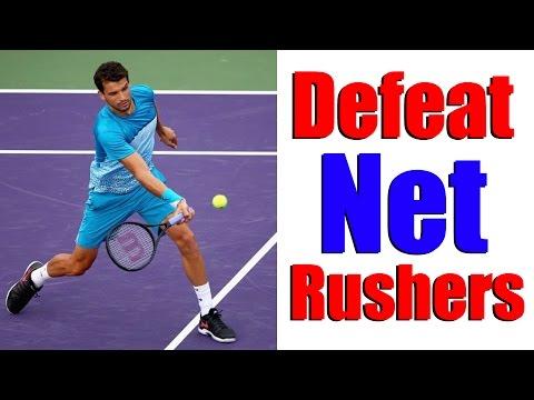 網球策略之如何面對擅長上網的對手