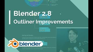 Outliner New Features - Blender 2.8