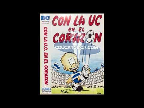 """""""Casette """"Con la UC en el corazón"""" (1995)"""" Barra: Los Cruzados • Club: Universidad Católica"""