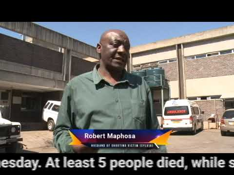 Interview with Robert Maphosa (Husband of Shooting Victim Sylvia Matambo Maphosa)