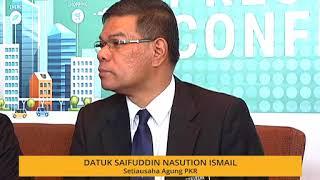 Datuk Saifuddin Nasution ambil pendirian Tun M mengenai proses peralihan