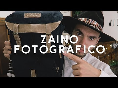ZAINO FOTOGRAFICO VINTAGE - Recensione zaino reflex dslr
