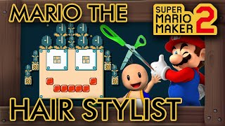 Super Mario Maker 2 - Hair Stylist Mario